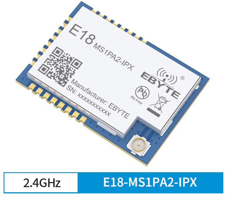 EByte E18 MS1PA-IPX (with an external antenna)